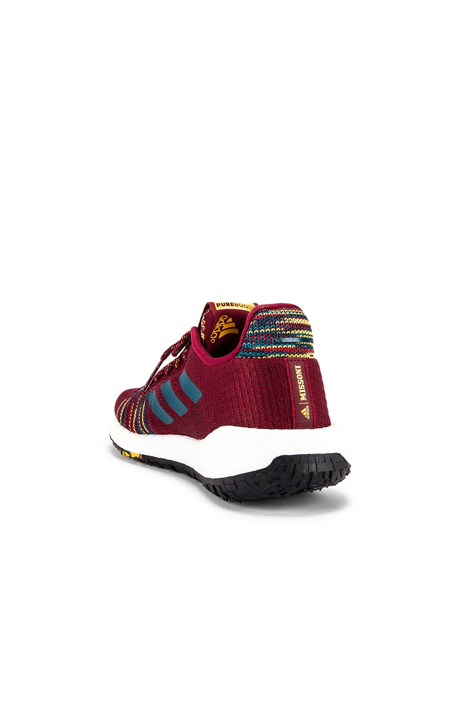 Image 3 of adidas by MISSONI Pulseboost HD in Collegiate Burgundy & Tech Mineral & Core Black