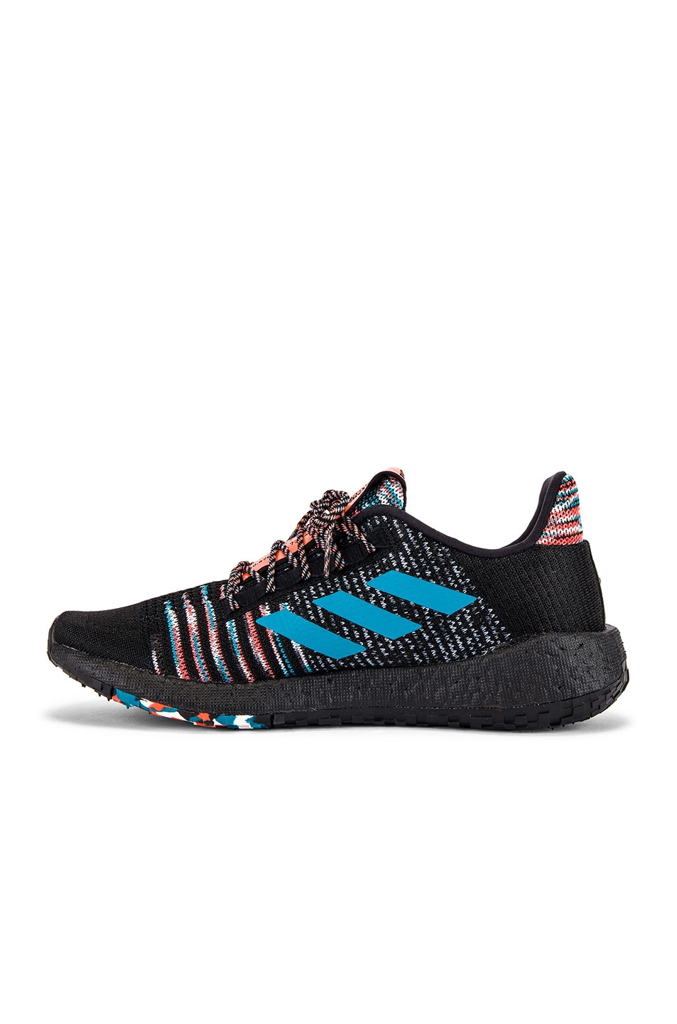Image 5 of adidas by MISSONI Pulseboost HD in Black & White & Active Orange