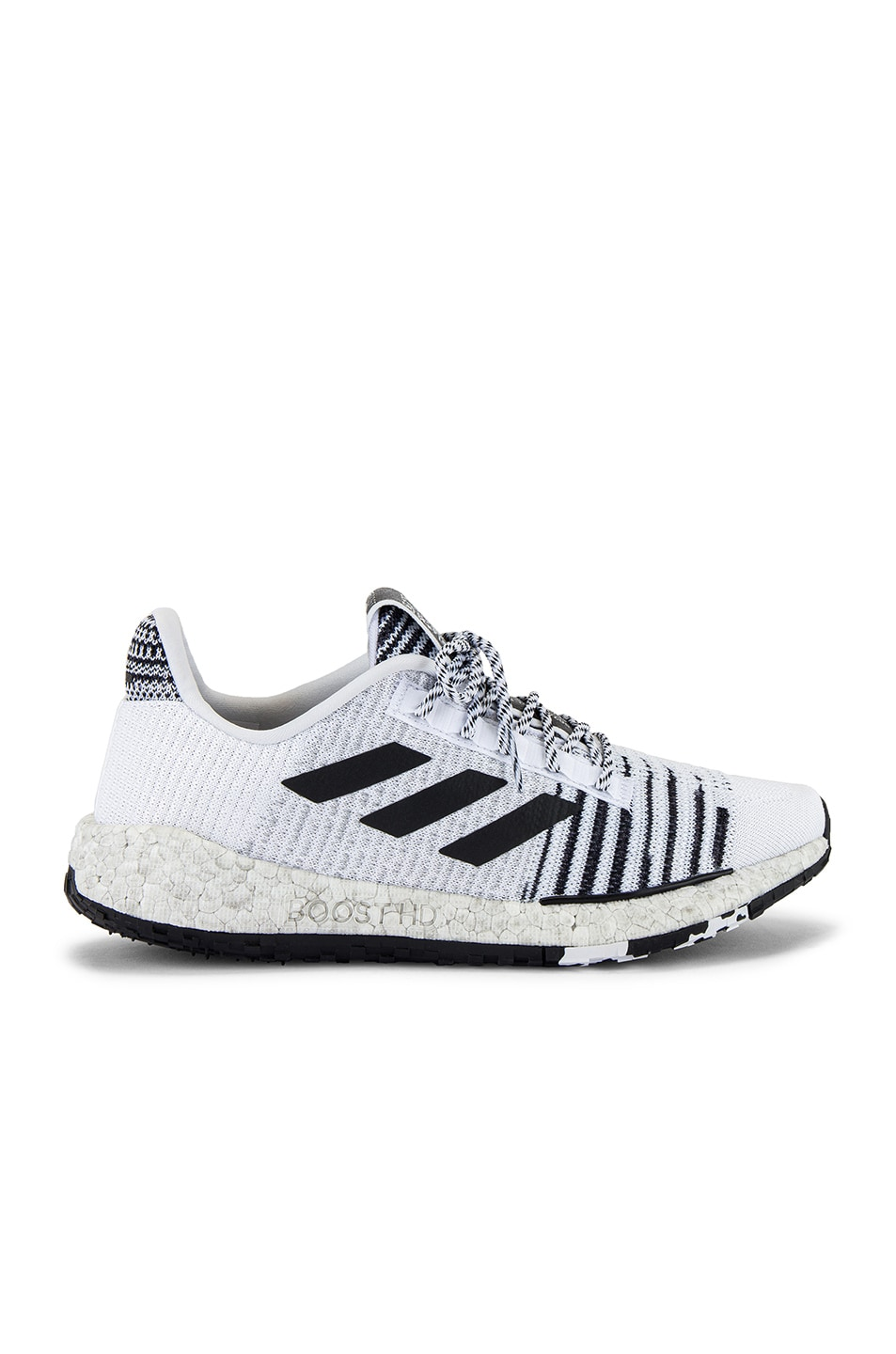 Image 2 of adidas by MISSONI Pulseboost HD in White & Black & Grey