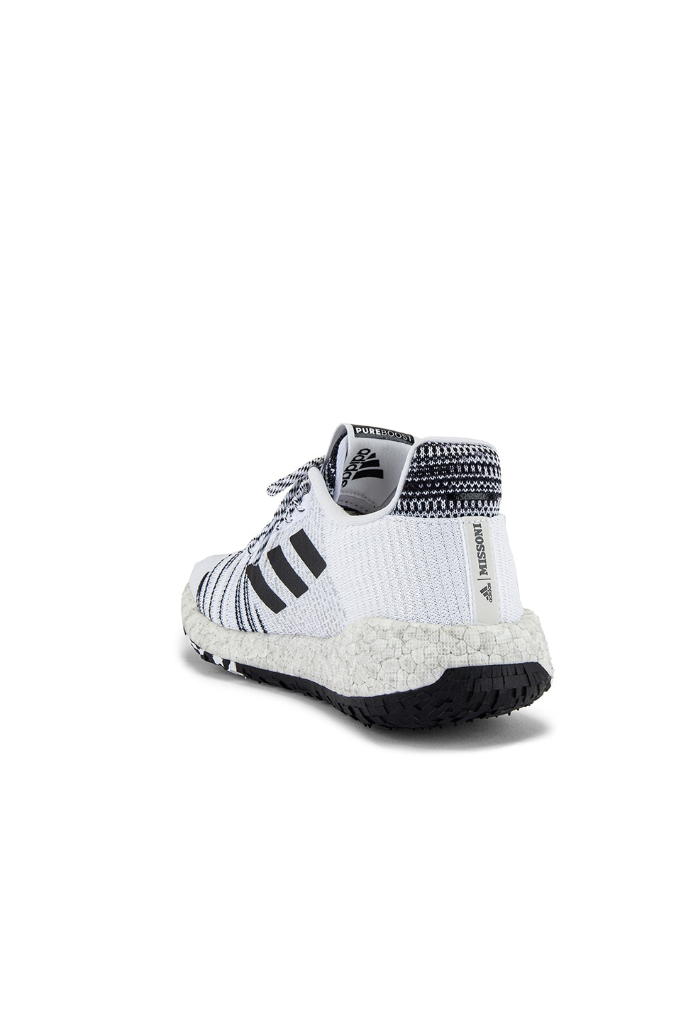 Image 3 of adidas by MISSONI Pulseboost HD in White & Black & Grey