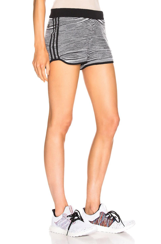 Image 2 of adidas by MISSONI Marathon 20 Short in Black & Grey & White