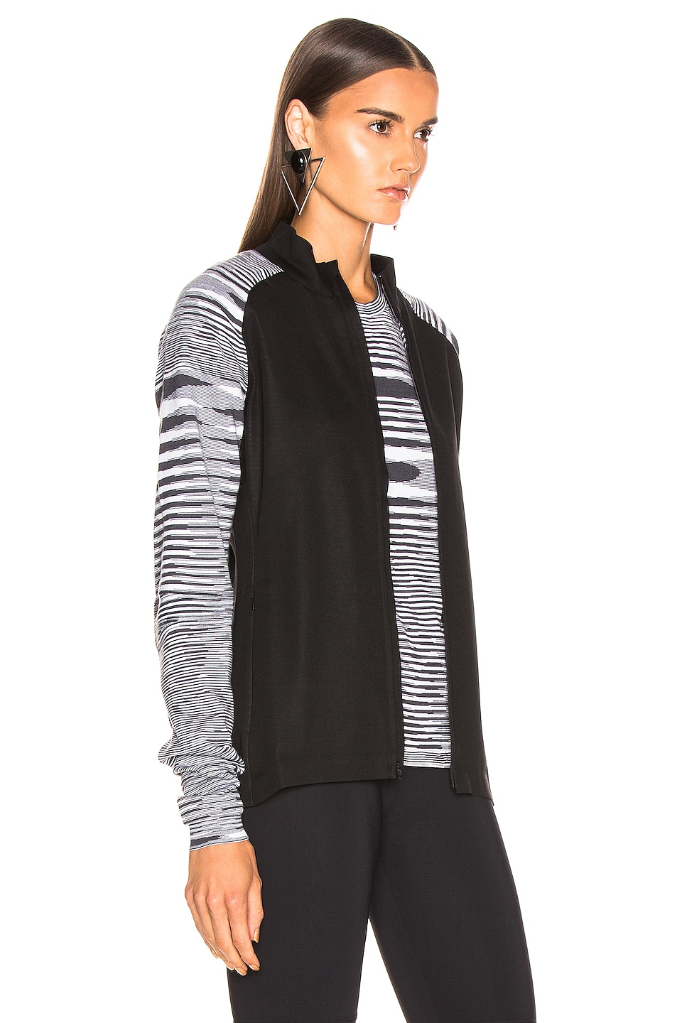 Image 3 of adidas by MISSONI PHX Jacket in Black & Grey & White