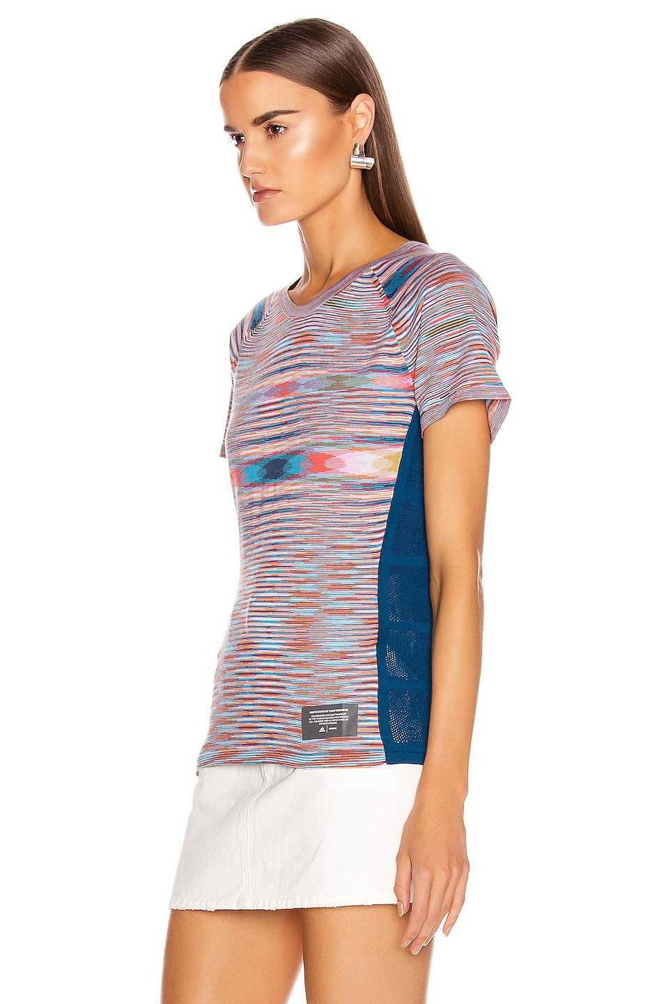 Image 3 of adidas by MISSONI Runners Unite Tee in Multi