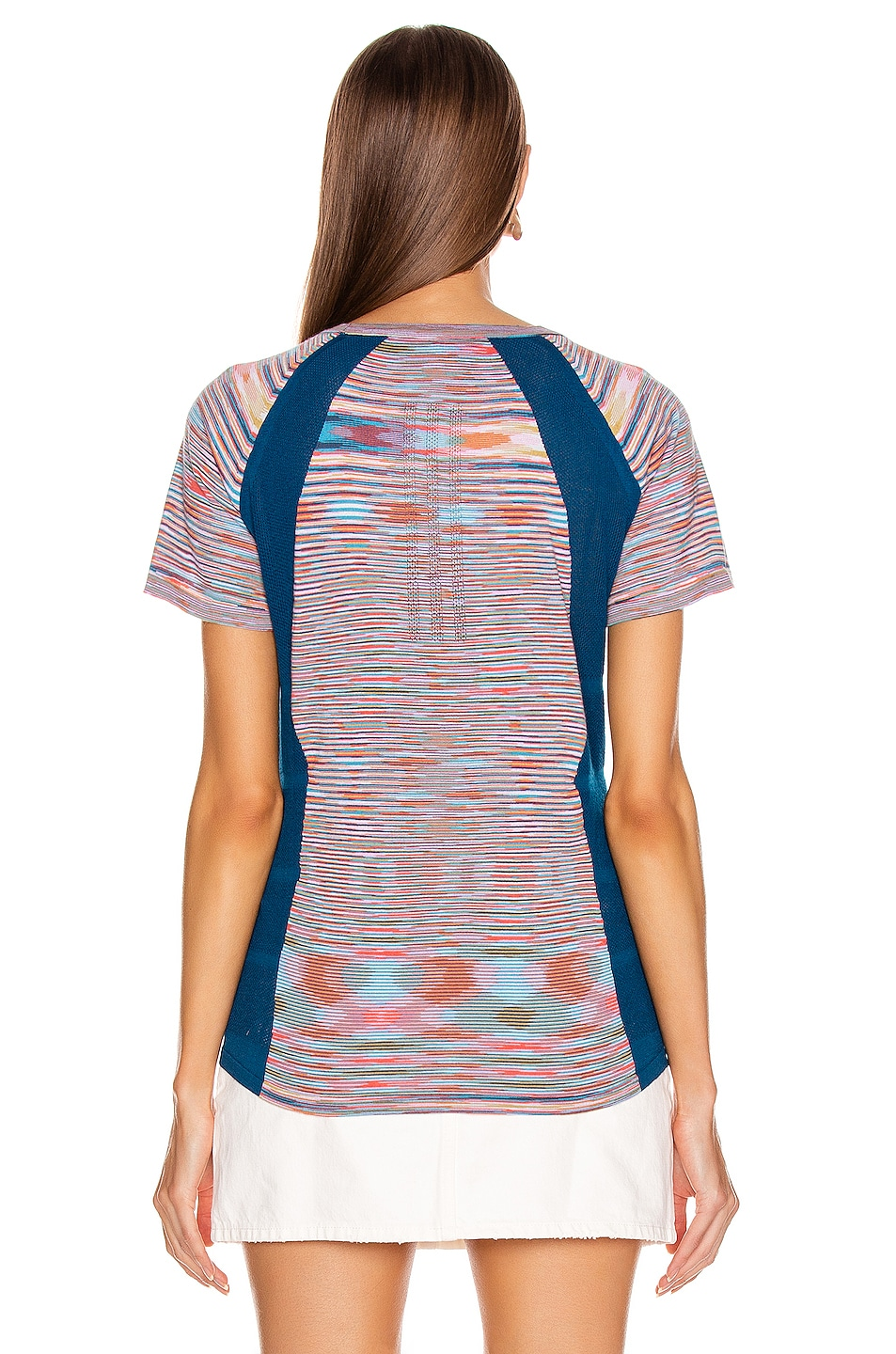 Image 4 of adidas by MISSONI Runners Unite Tee in Multi