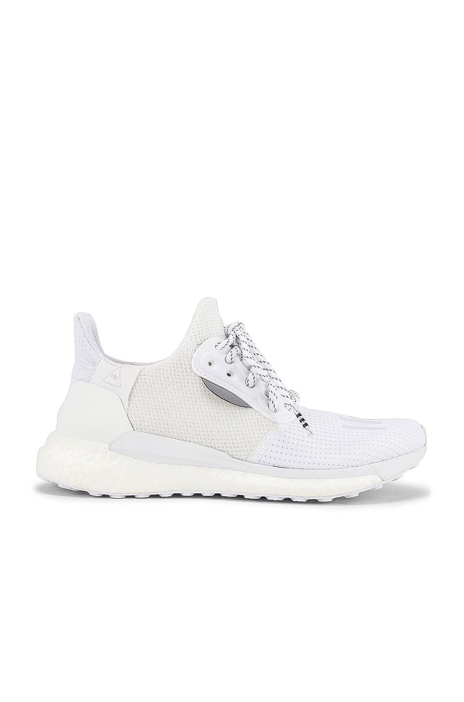 Image 2 of adidas x Pharrell Williams Solar Hu Proud in White