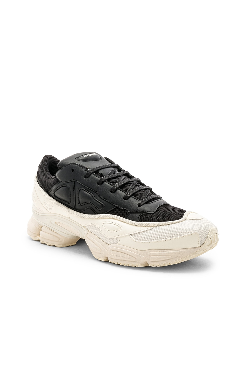 745996e80af2af Image 1 of adidas by Raf Simons Ozweego in Cream White   Core Black   Core