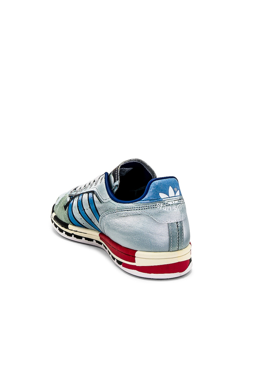 adidas by Raf Simons Micro Stan Sneaker White & Multi delicate