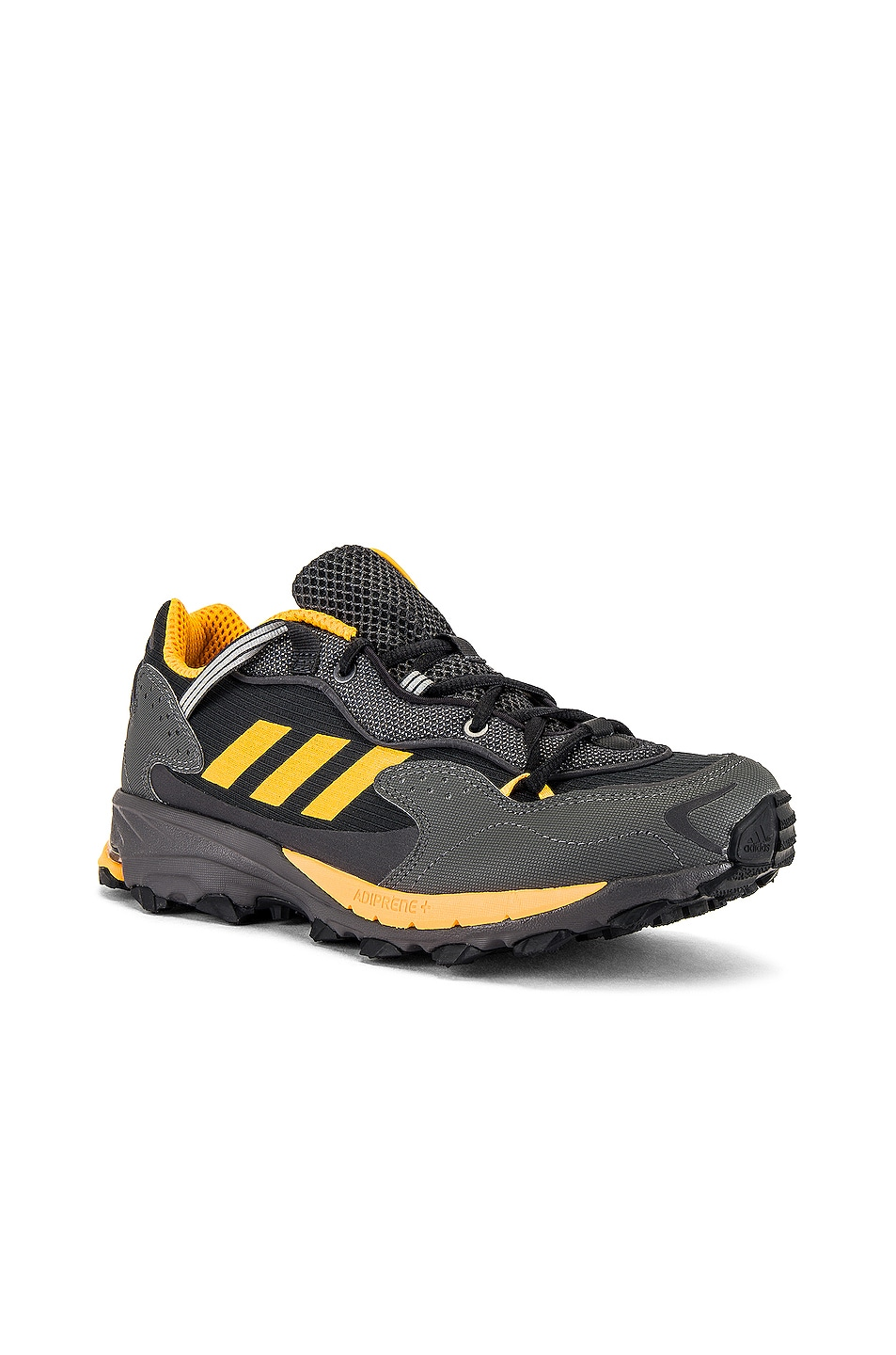 Image 1 of adidas STMNT Response Hoverturf GF6100AM in Core Black & Real Gold S18 & Carbon