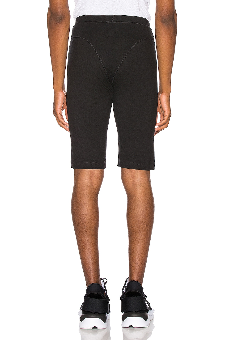 Image 4 of adidas by Alexander Wang 80s Shorts in Black