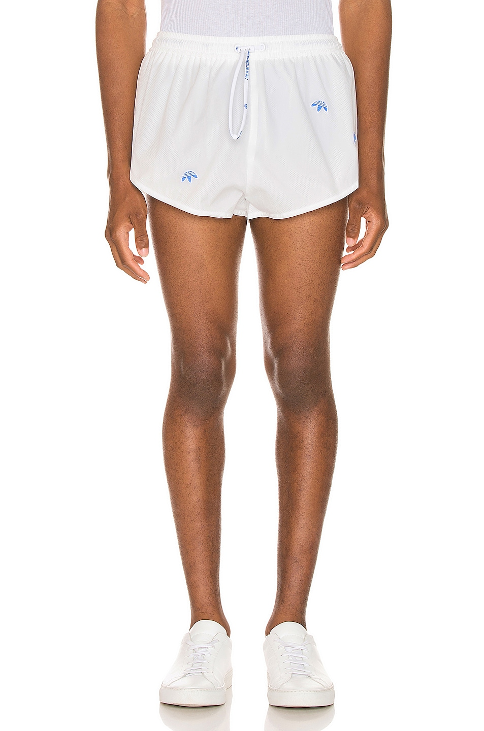 Image 1 of adidas by Alexander Wang Shorts in Core White