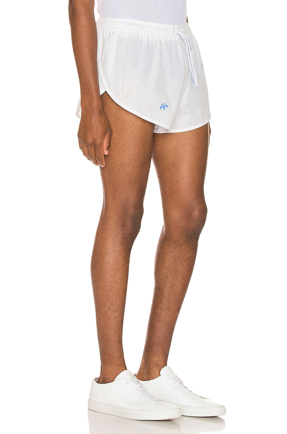 Image 2 of adidas by Alexander Wang Shorts in Core White
