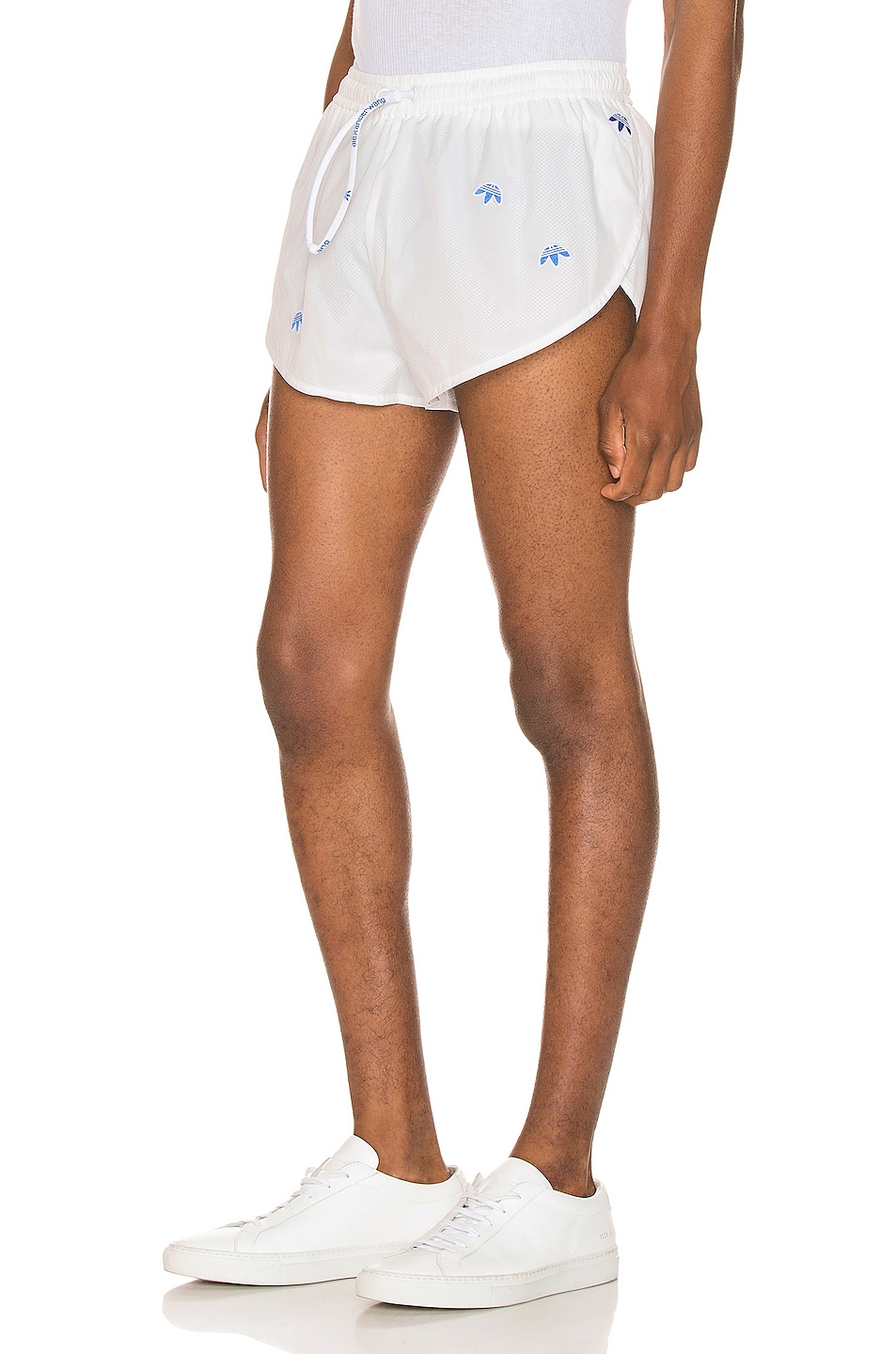 Image 3 of adidas by Alexander Wang Shorts in Core White