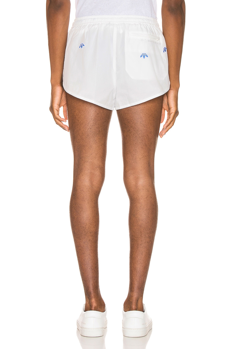 Image 4 of adidas by Alexander Wang Shorts in Core White