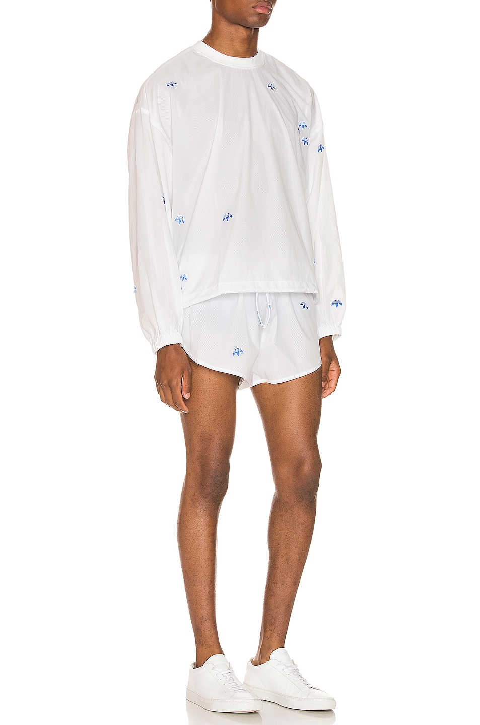 Image 5 of adidas by Alexander Wang Shorts in Core White