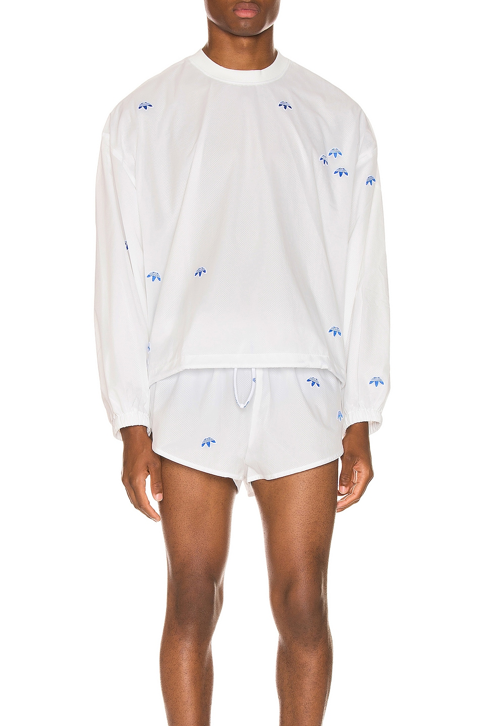 Image 1 of adidas by Alexander Wang Crewneck in Core White