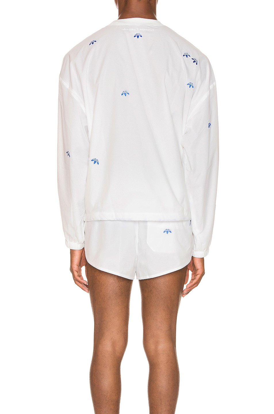 Image 3 of adidas by Alexander Wang Crewneck in Core White