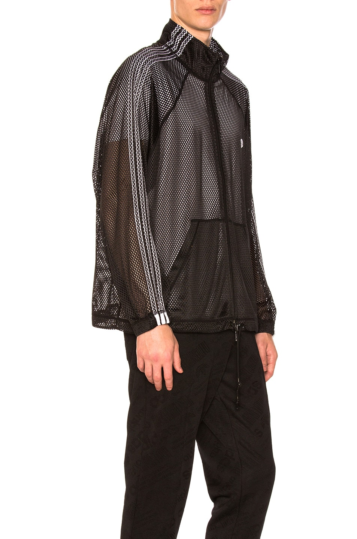 3ba77bf28dc Image 3 of adidas by Alexander Wang Mesh Track Jacket in Black