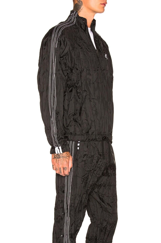 Image 2 of adidas by Alexander Wang Windbreaker in Black & White