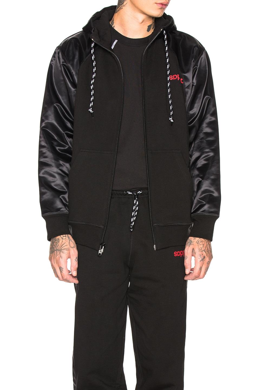 Image 1 of adidas by Alexander Wang Hoodie in Black