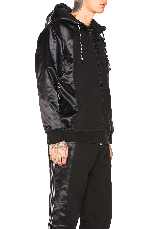 Image 3 of adidas by Alexander Wang Hoodie in Black