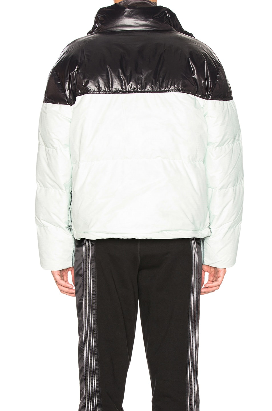 Image 4 of adidas by Alexander Wang Disjoin Puffer in Clear Mint & Black