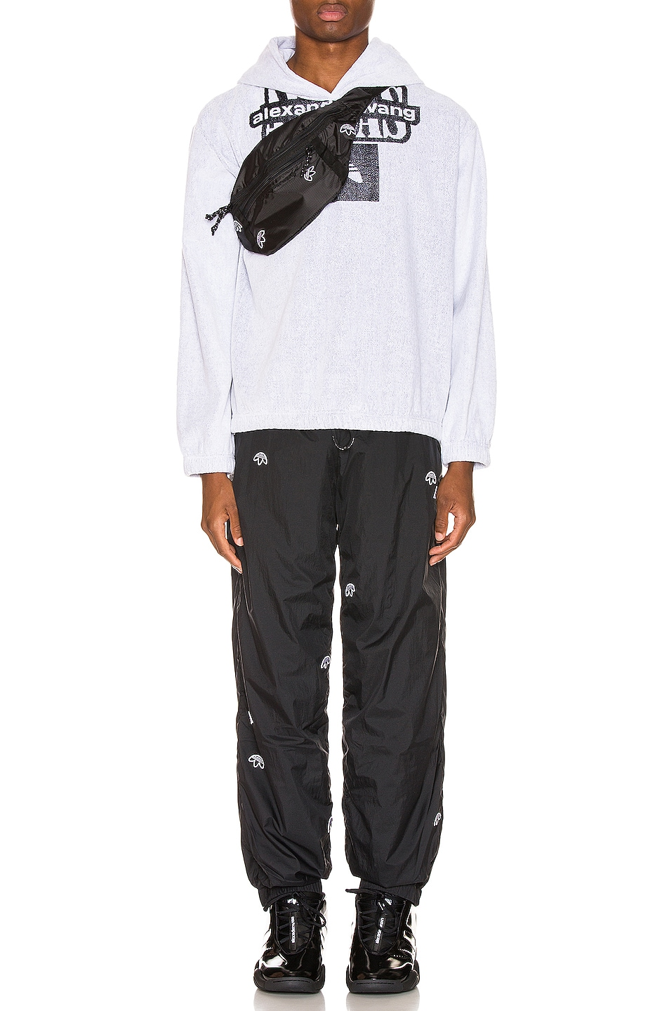 Image 4 of adidas by Alexander Wang Joggers in Black