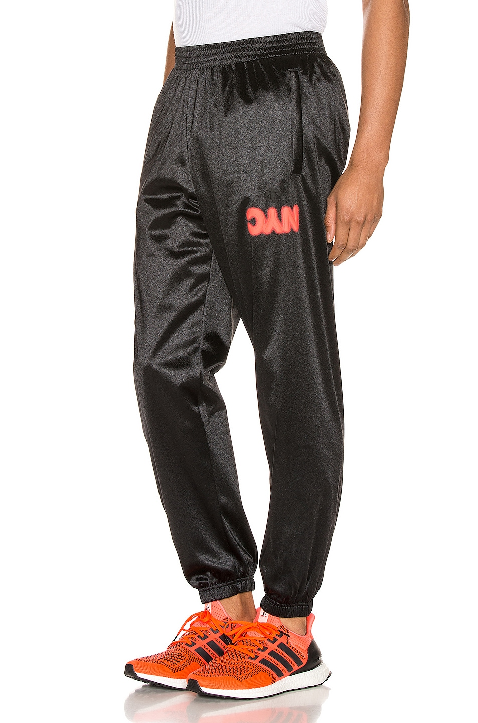 Image 1 of adidas by Alexander Wang Track Pants in Black