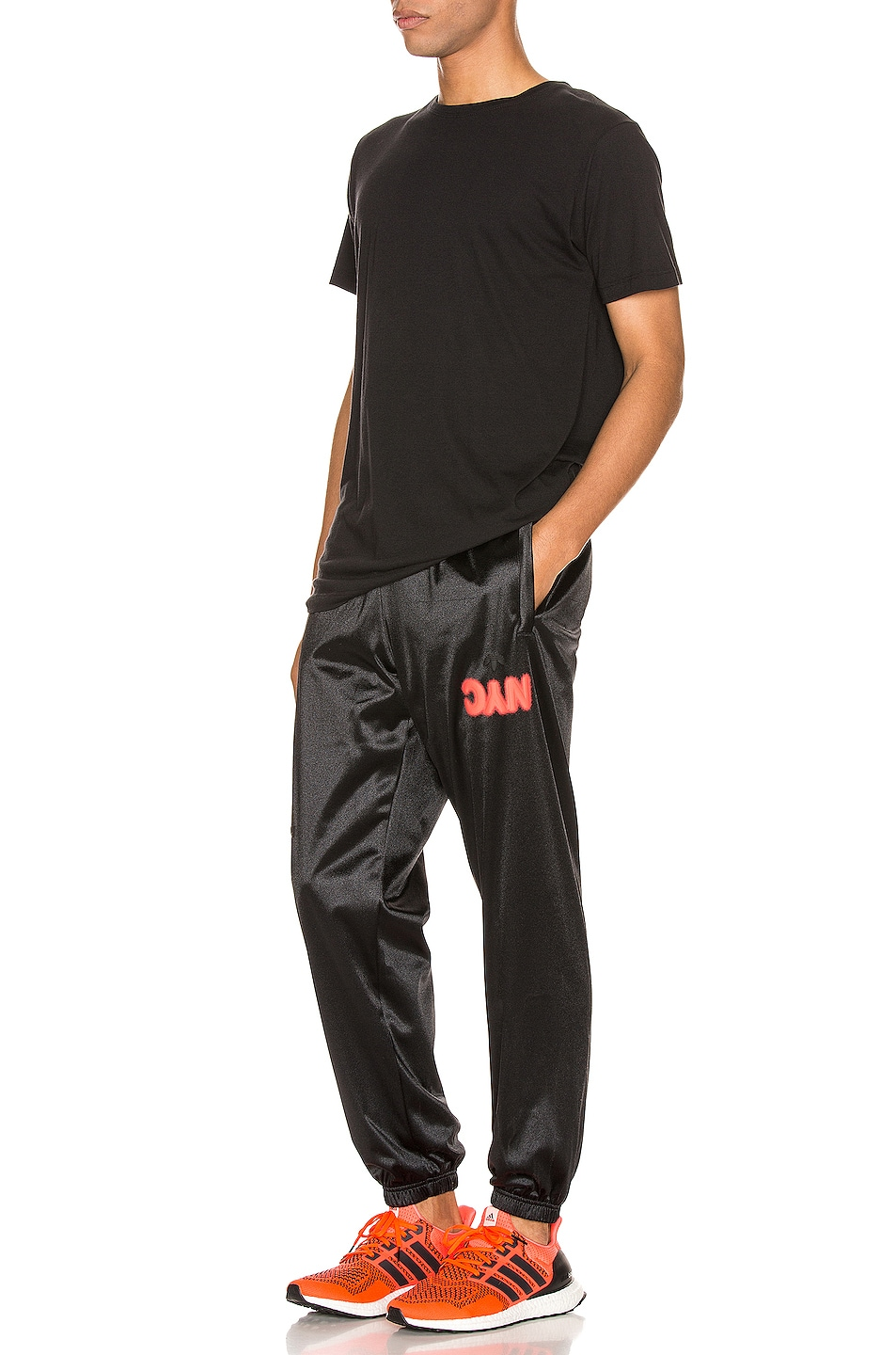 Image 5 of adidas by Alexander Wang Track Pants in Black