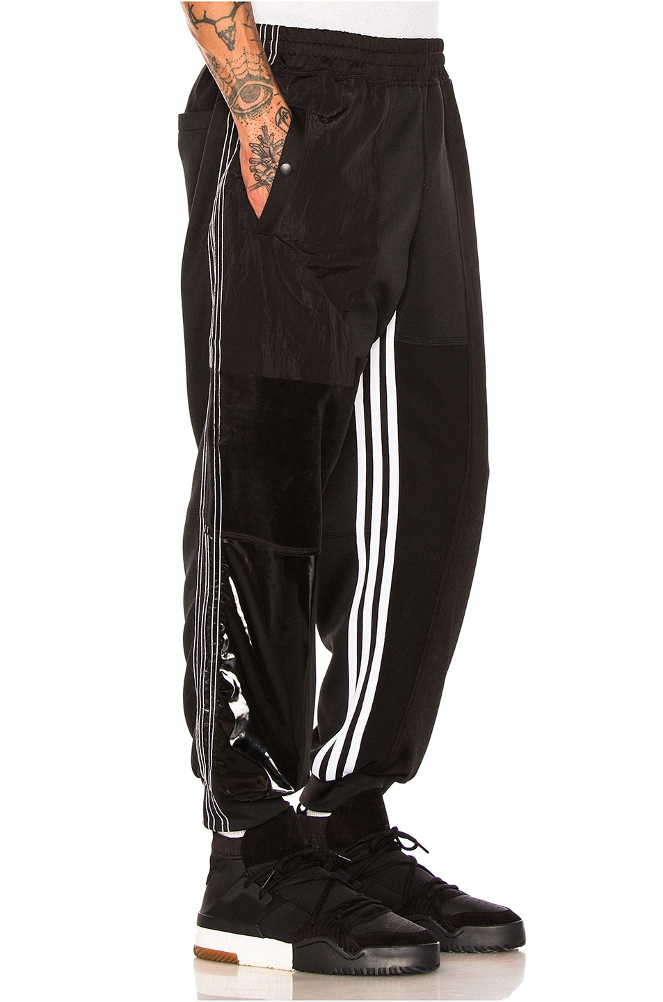 a798ee7b49e8 Image 2 of adidas by Alexander Wang Patch Track Pants in Black
