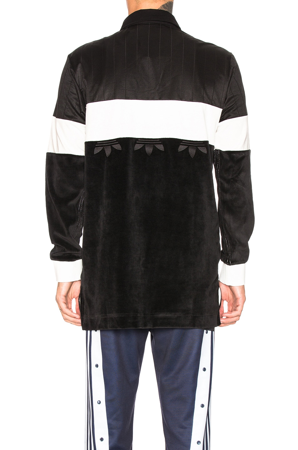Image 3 of adidas by Alexander Wang Disjoin Jersey in Black & Core White