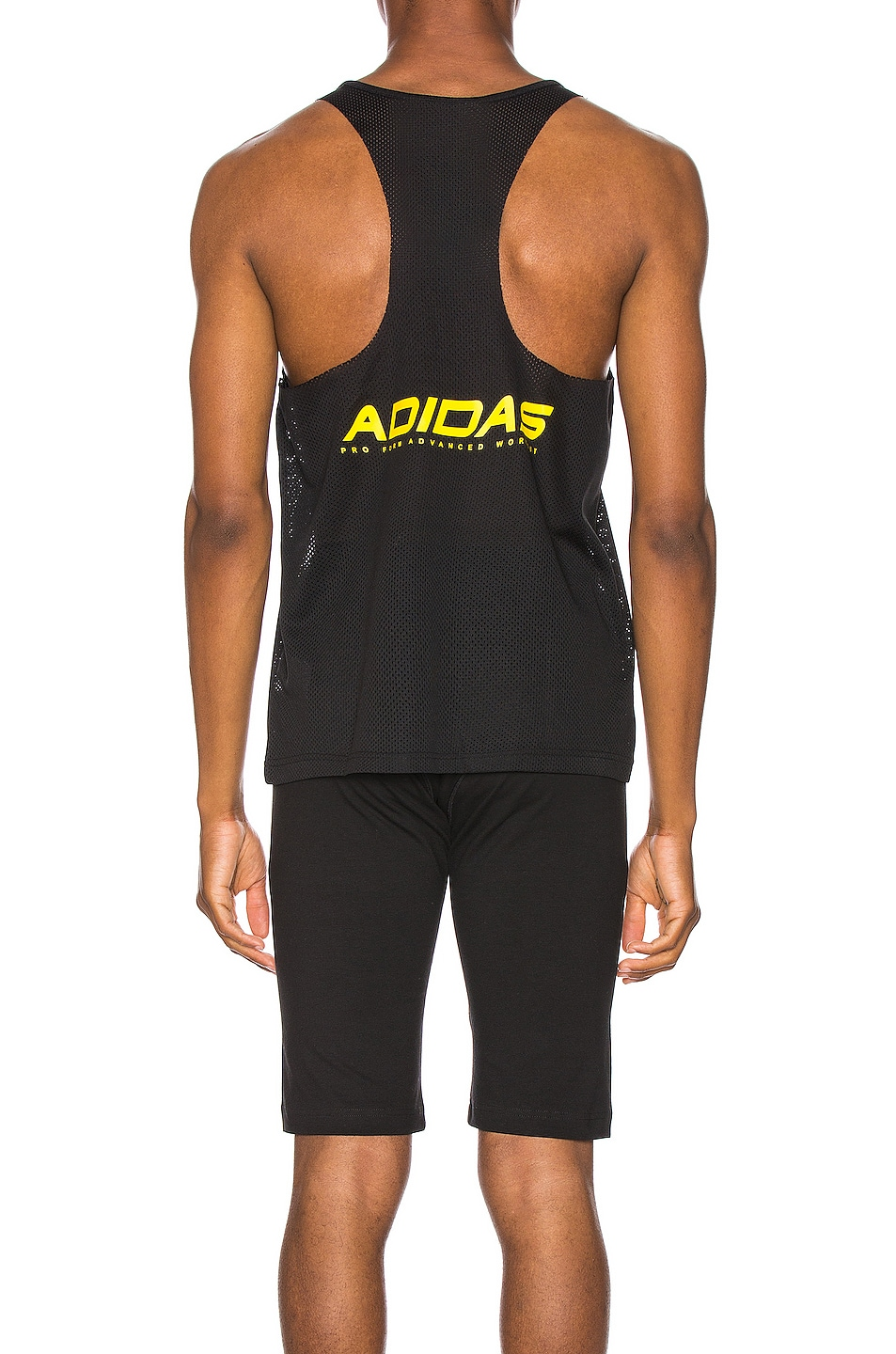 Image 3 of adidas by Alexander Wang Graphic Tank Tee in Black