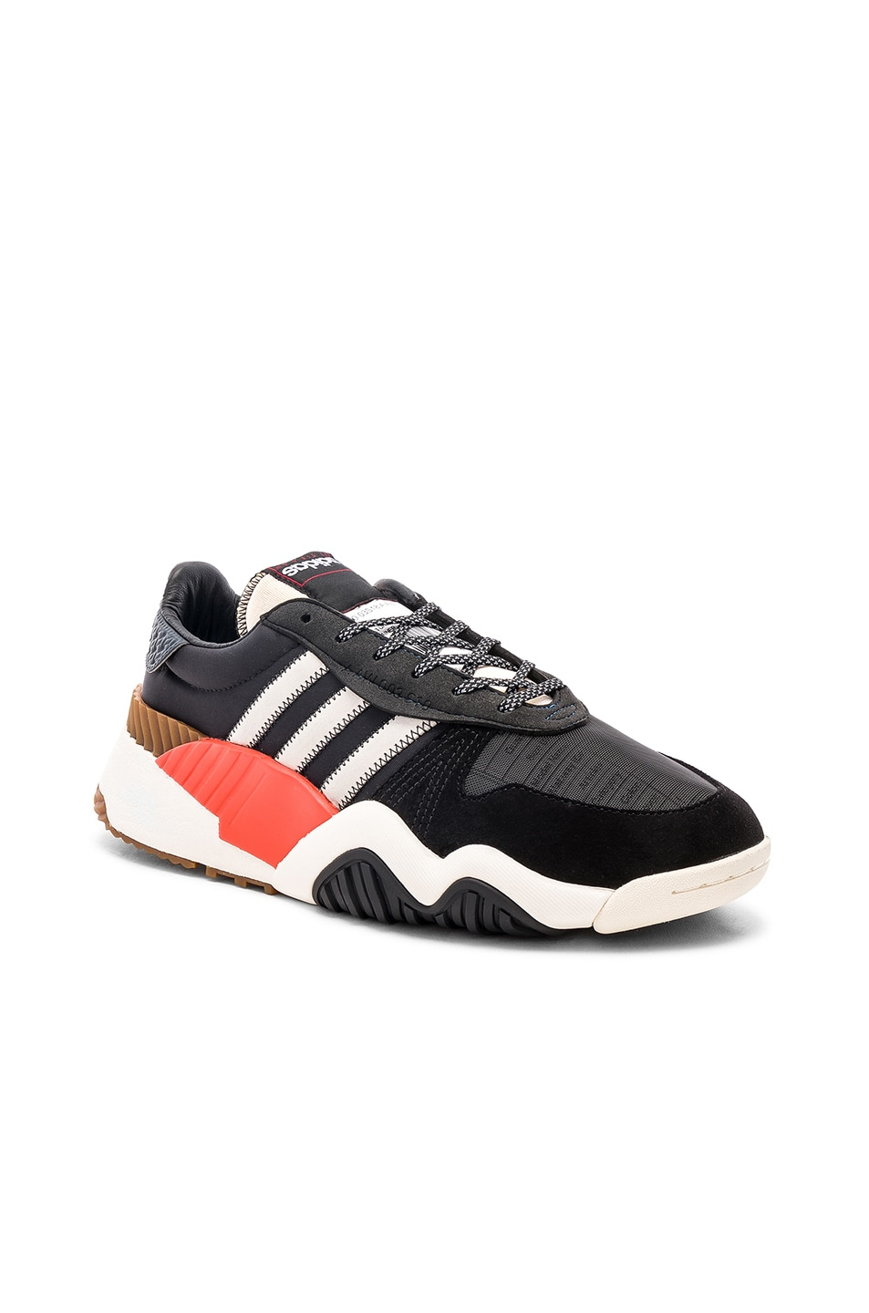 Image 1 of adidas by Alexander Wang Trainers in Core Black & Core White & Borang