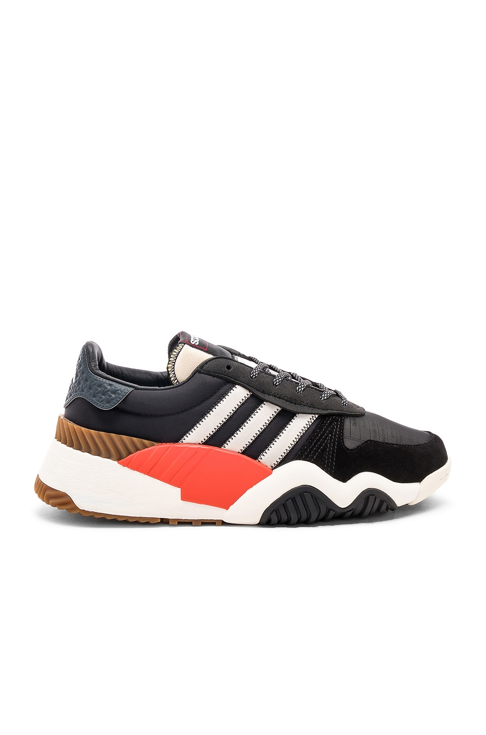 Image 2 of adidas by Alexander Wang Trainers in Core Black & Core White & Borang