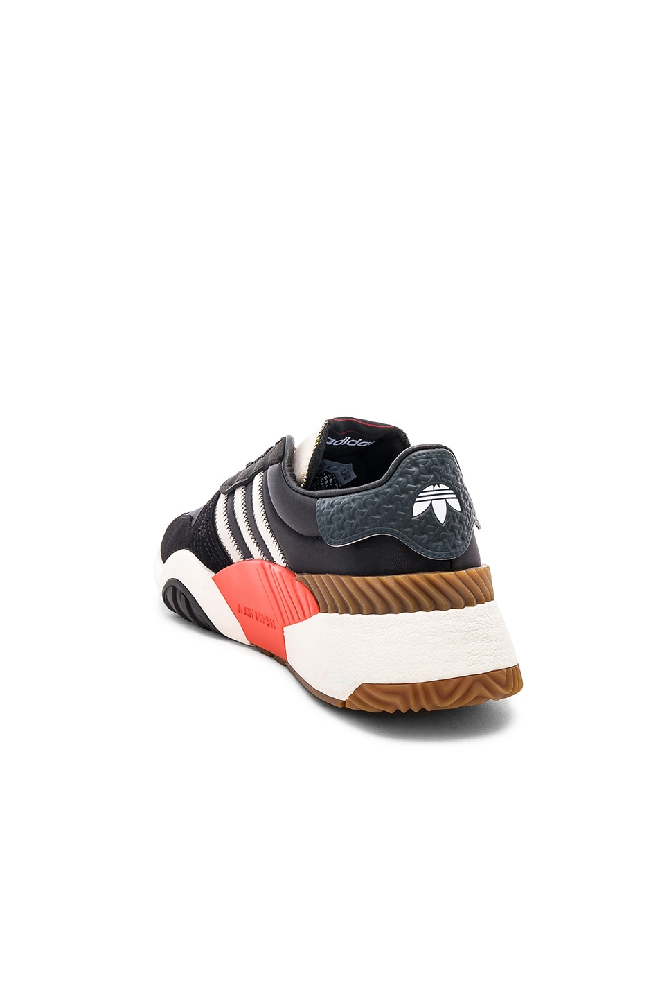 Image 3 of adidas by Alexander Wang Trainers in Core Black & Core White & Borang