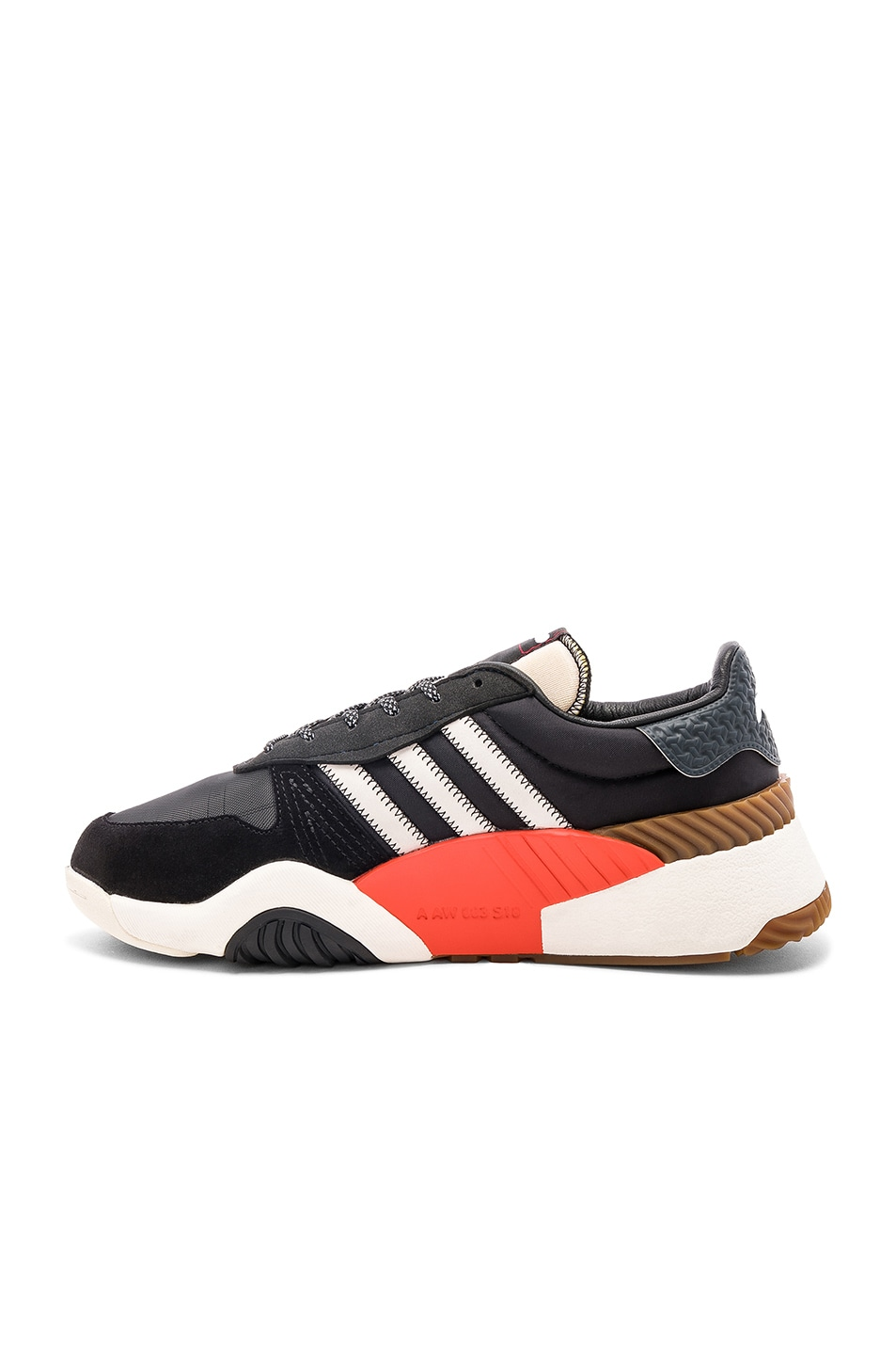 Image 5 of adidas by Alexander Wang Trainers in Core Black & Core White & Borang