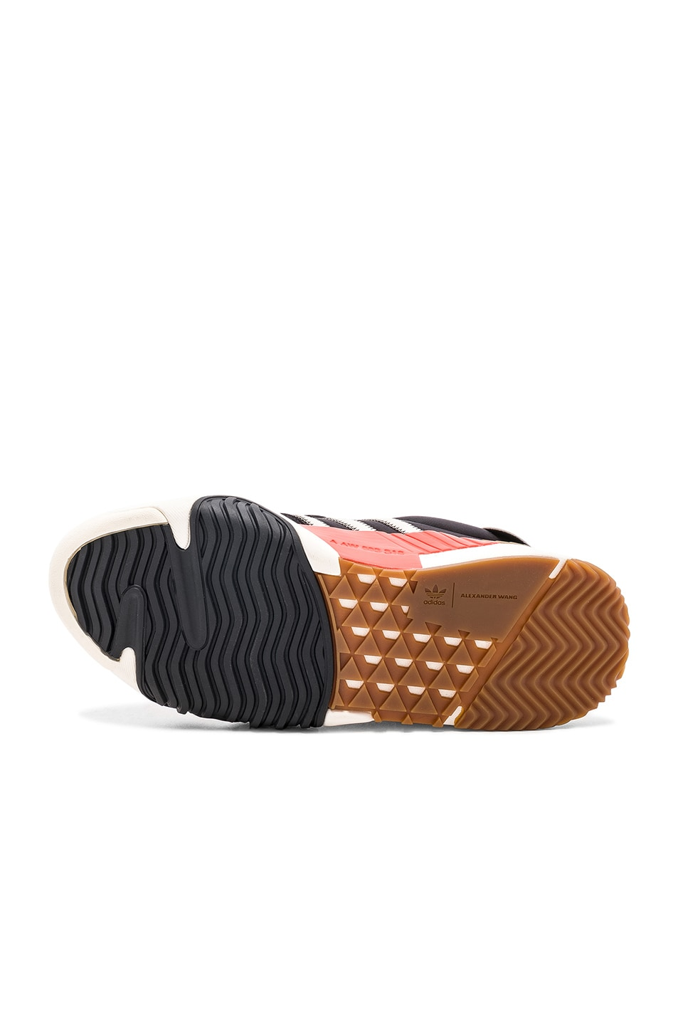 Image 6 of adidas by Alexander Wang Trainers in Core Black & Core White & Borang