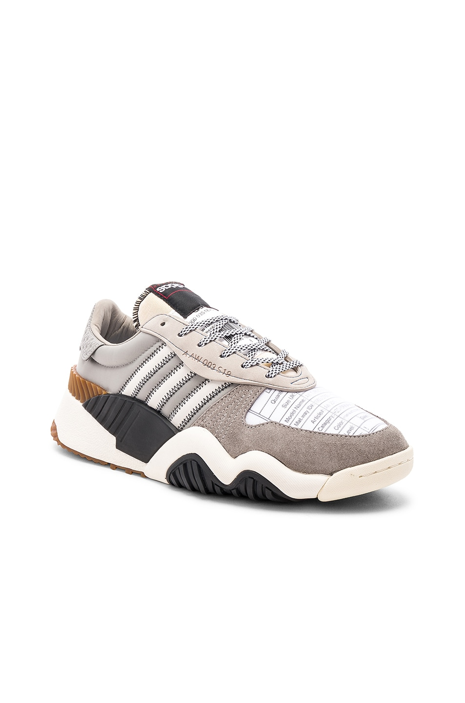 Image 1 of adidas by Alexander Wang Trainers in Light Brown & Core White & Core Black