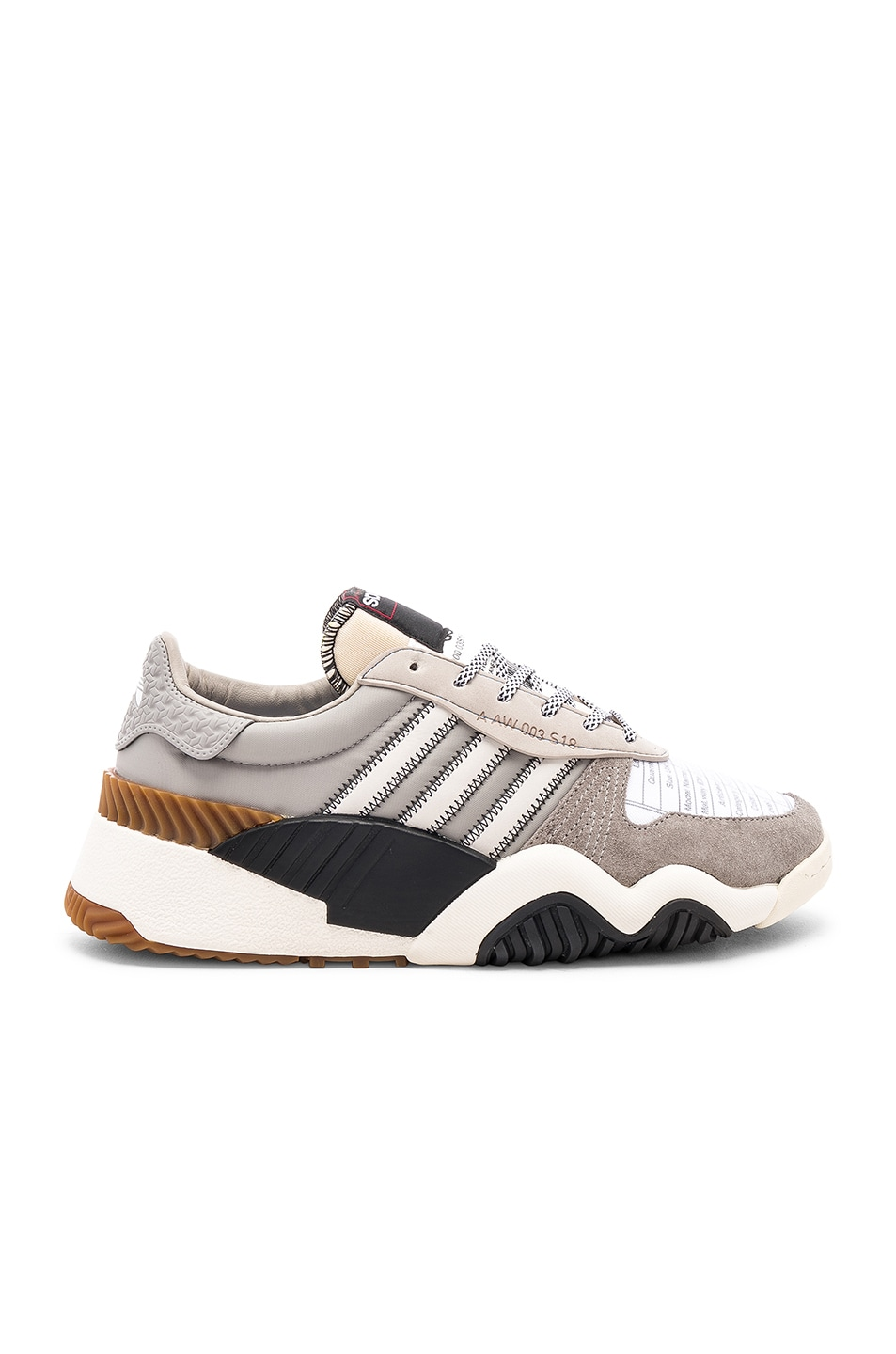 Image 2 of adidas by Alexander Wang Trainers in Light Brown & Core White & Core Black