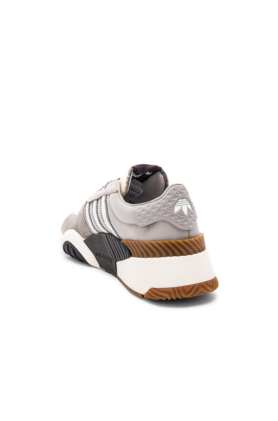 Image 3 of adidas by Alexander Wang Trainers in Light Brown & Core White & Core Black