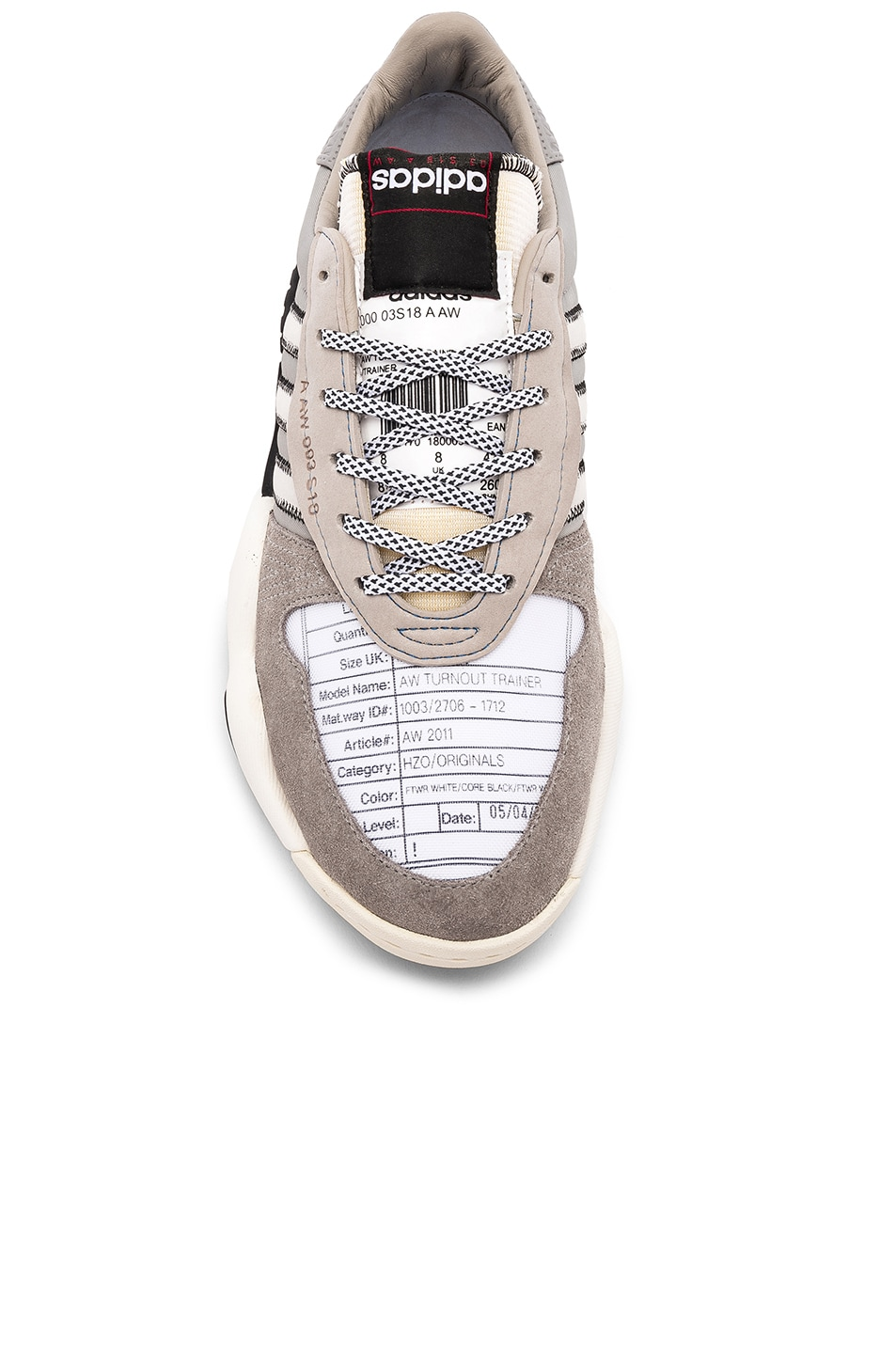 Image 4 of adidas by Alexander Wang Trainers in Light Brown & Core White & Core Black