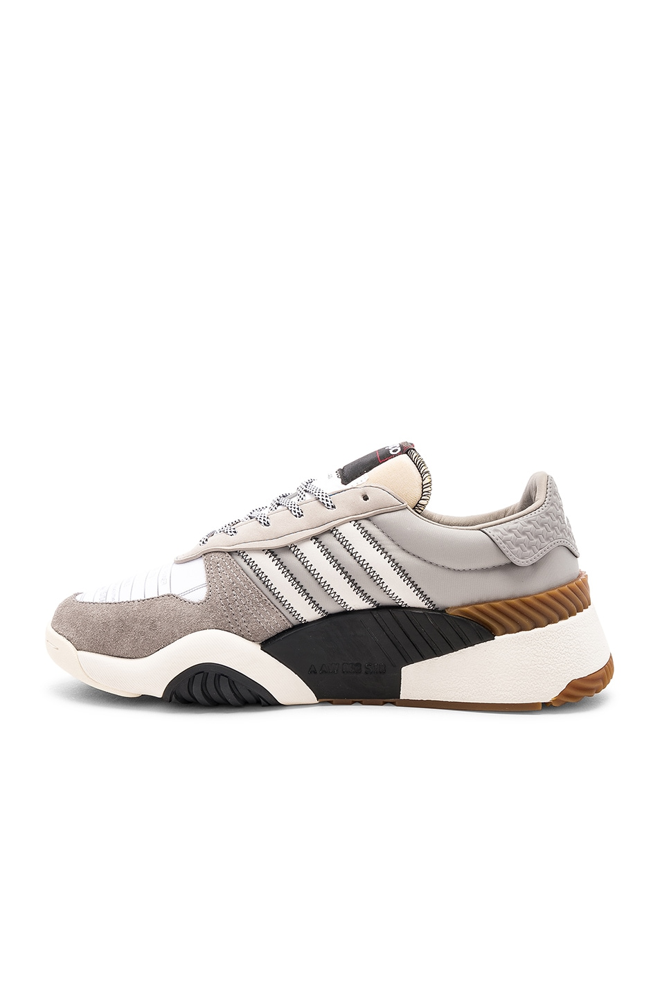 Image 5 of adidas by Alexander Wang Trainers in Light Brown & Core White & Core Black