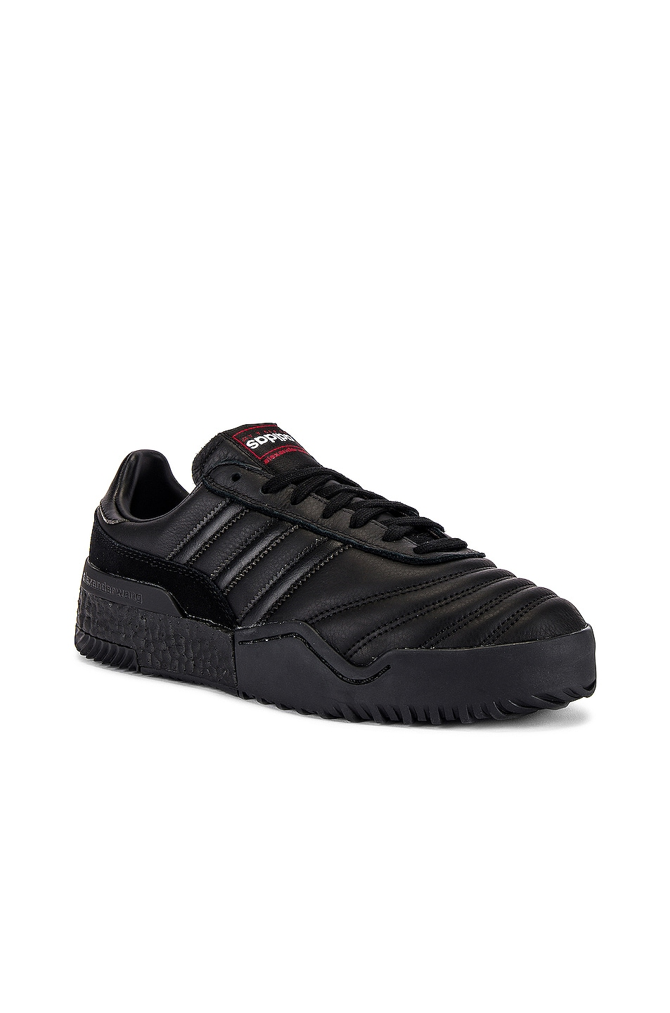 Image 1 of adidas by Alexander Wang Bball Soccer Sneaker in Core Black