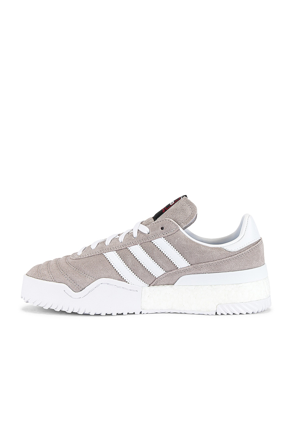 Image 5 of adidas by Alexander Wang Bball Soccer Sneaker in Clear Granite & Core White