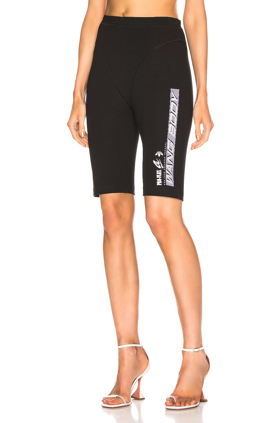 Image 1 of adidas by Alexander Wang 80s Shorts in Black