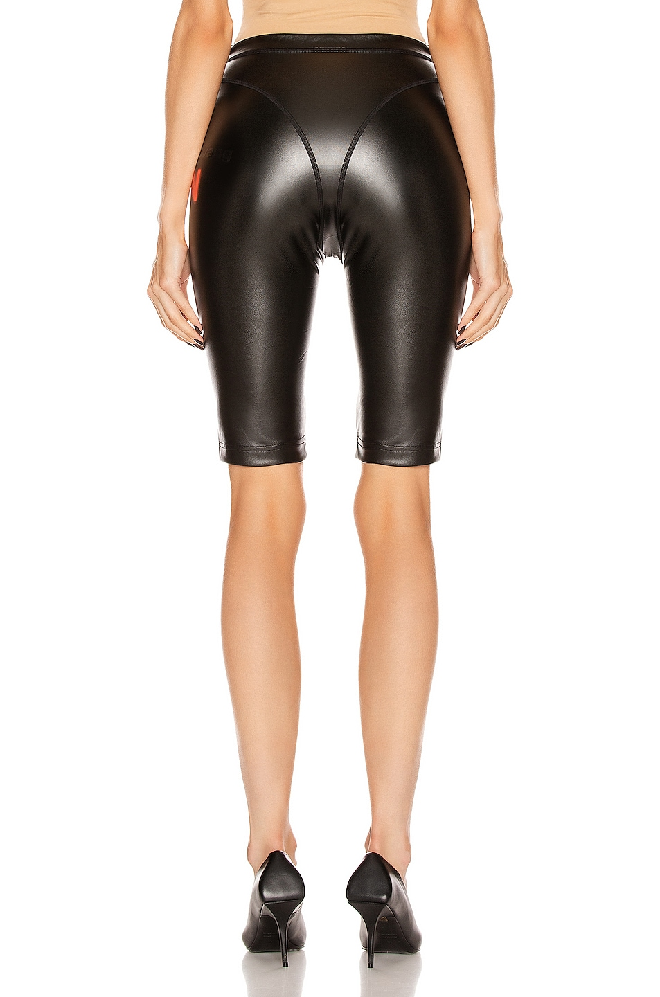 Image 4 of adidas by Alexander Wang PL Shorts in Black
