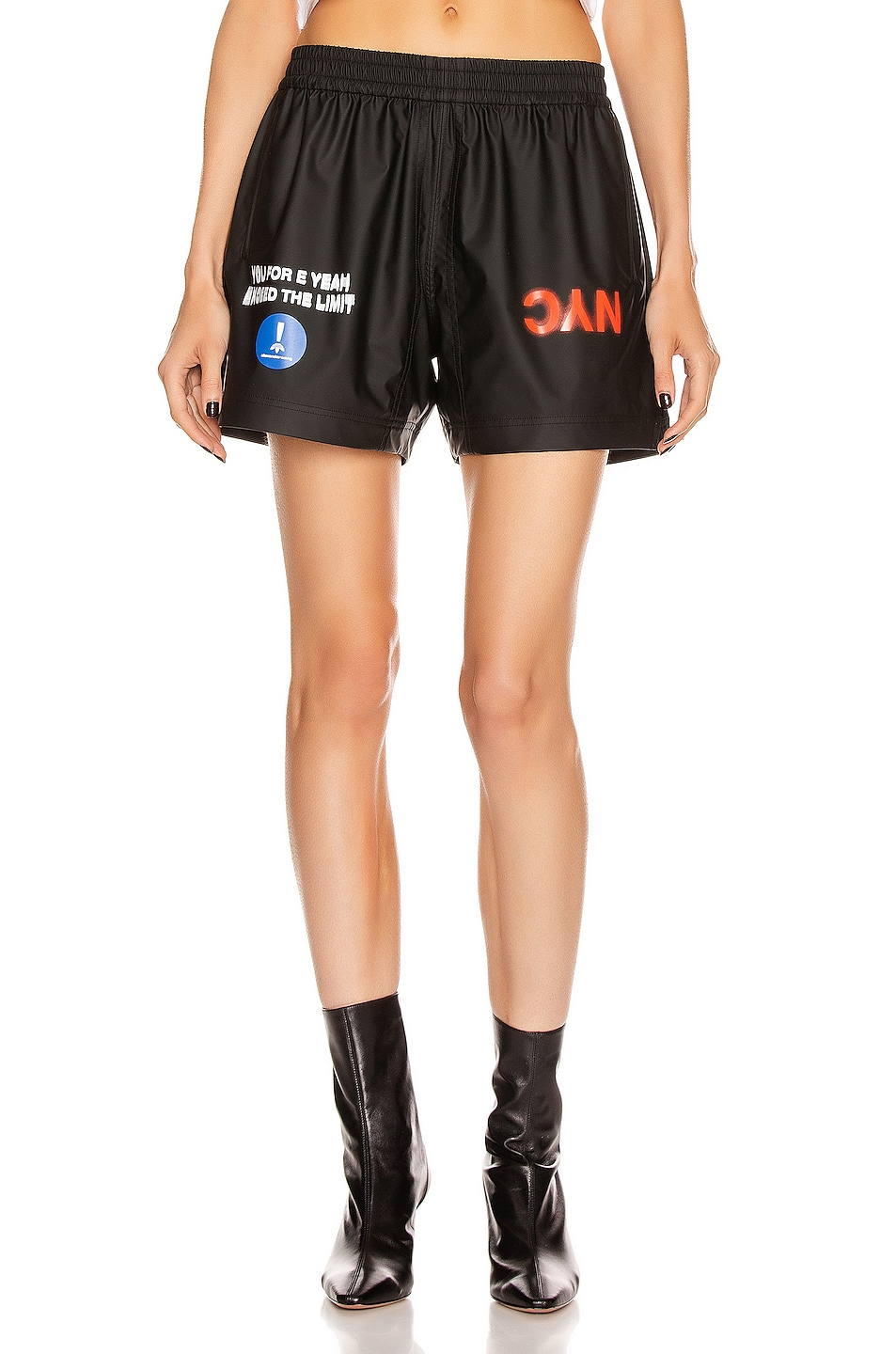 Image 1 of adidas by Alexander Wang AW Shorts in Black
