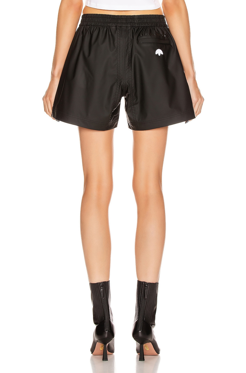 Image 4 of adidas by Alexander Wang AW Shorts in Black