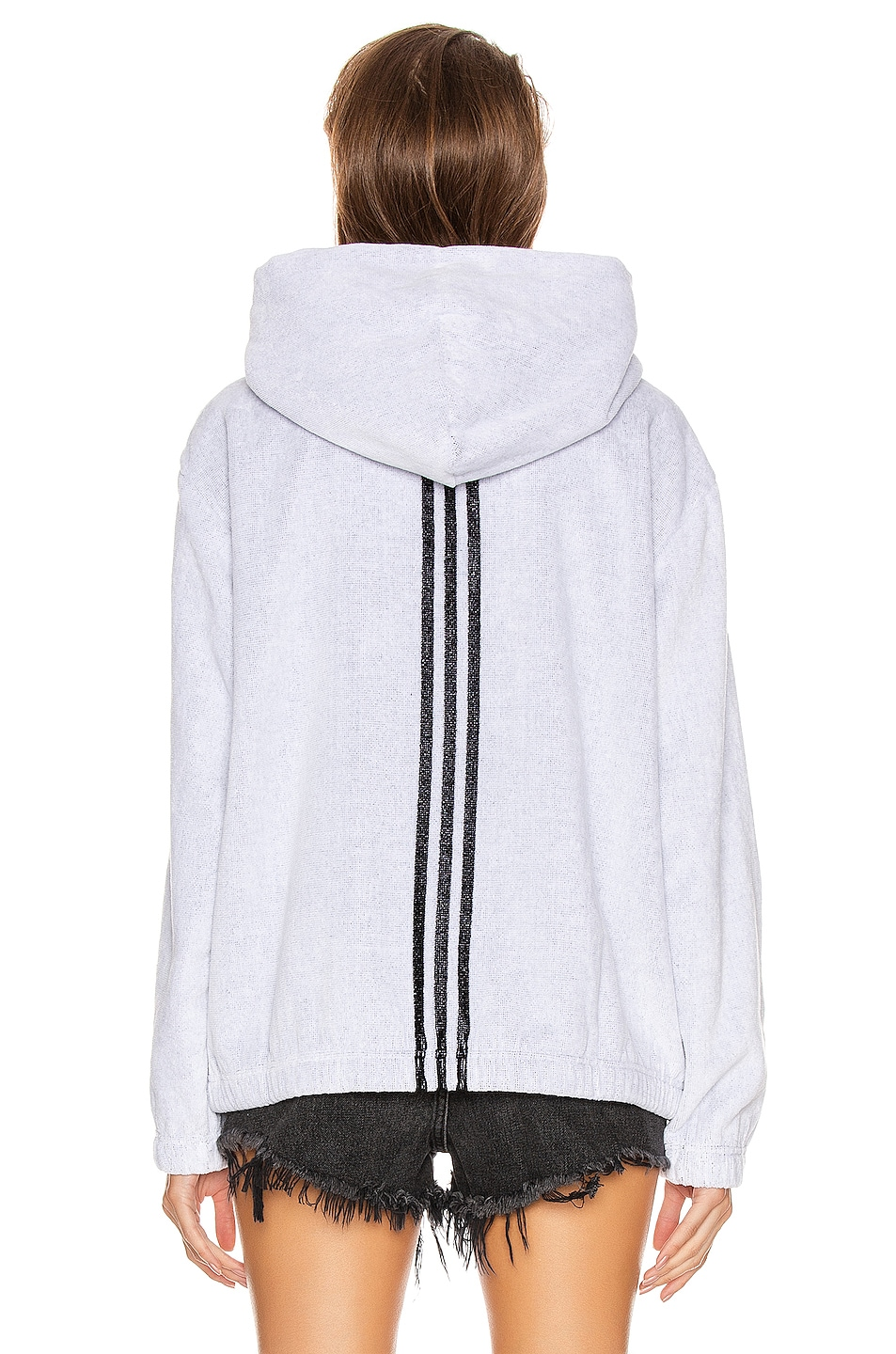 Image 4 of adidas by Alexander Wang Towel Hoodie in White