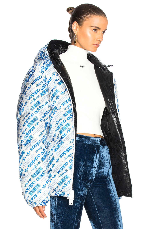 5039a4088 adidas by Alexander Wang Reversible Puffer Jacket in Bluebird ...