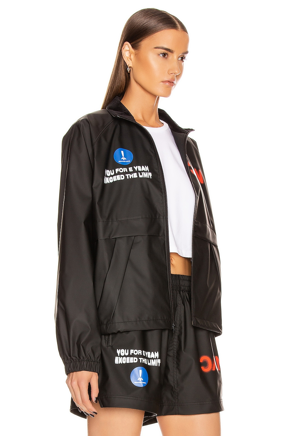Image 3 of adidas by Alexander Wang Track Jacket in Black